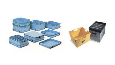 reusable plastic corrugated box