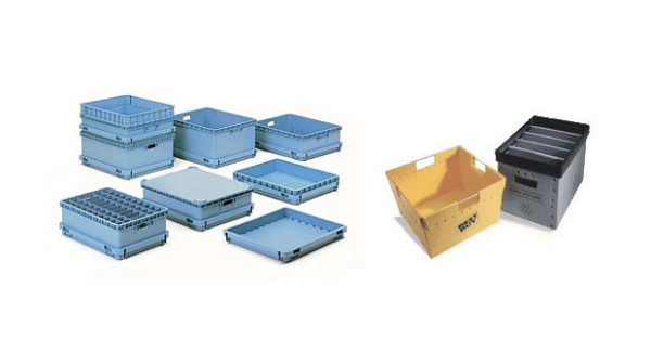 reusable plastic corrugated box