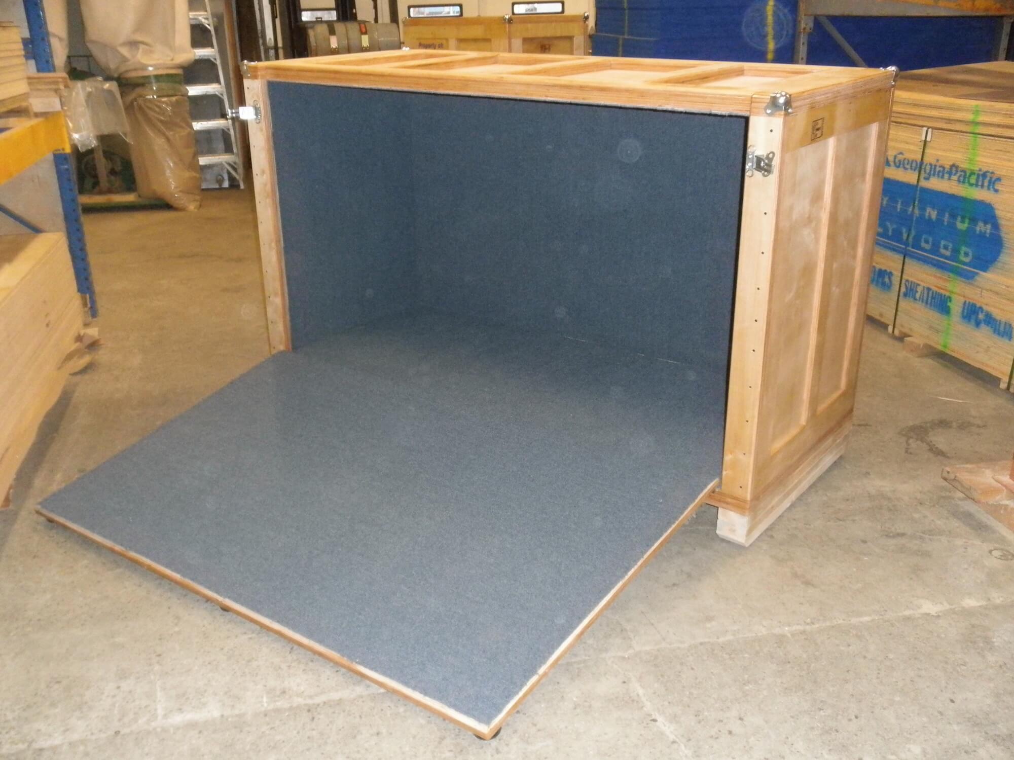 wood crate manufacturer
